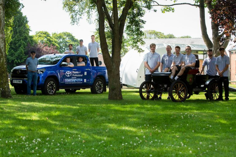 Toyota Provides Hilux to Automotive Training Charity StarterMotor