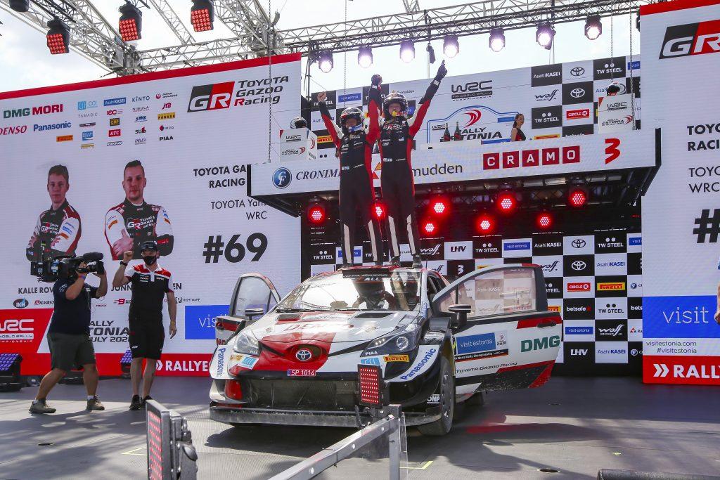 Record-breaker Rovanperä Makes Rallying History in the Toyota Yaris WRC