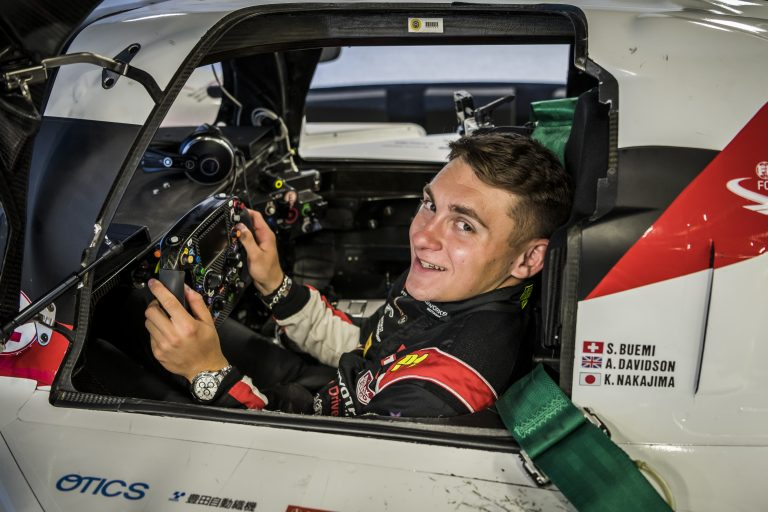 A Taste of Le Mans for Young Toyota Gazoo Racing UK Driver Scott McKenna