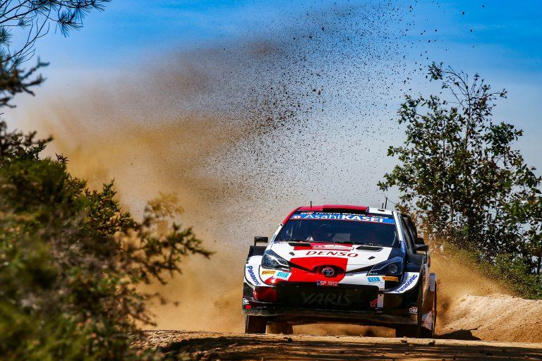 Toyota Yaris WRC encounters the legendary Acropolis Rally