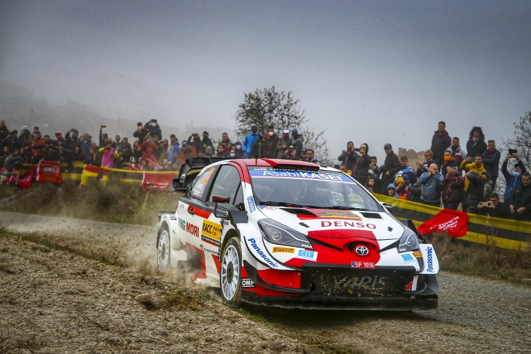 Evans and Toyota Gazoo Racing Seal Second in Spain